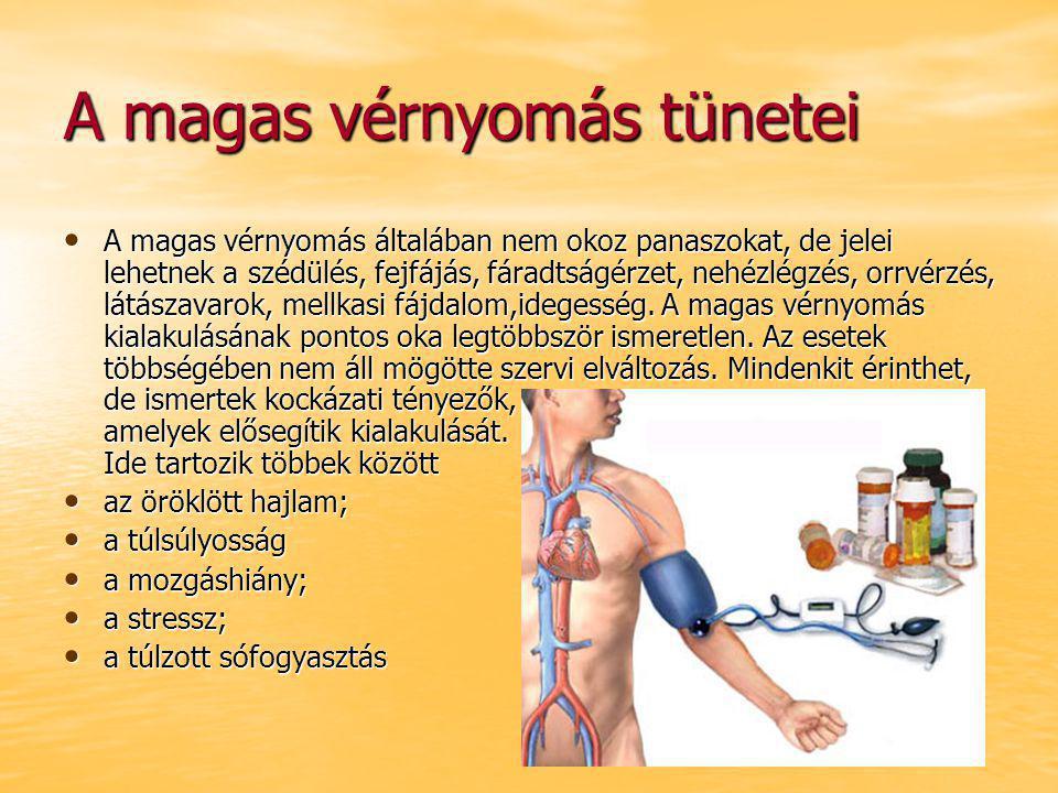 a magas vérnyomás jelei és tünetei menü egy hétig magas vérnyomás elhízással