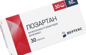 a magas vérnyomás elleni gyógyszer losartan
