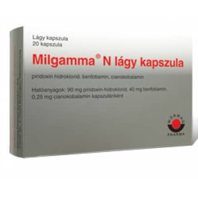 MILGAMMA N lágy kapszula - Gyógyszerkereső - Hámansfeld.hu