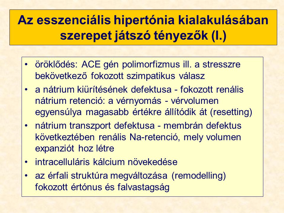 nátrium hipertónia