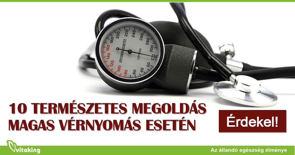 magas vérnyomás újdonságok