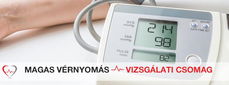magas vérnyomás laboratóriumi vizsgálat mezei zsurló magas vérnyomás esetén