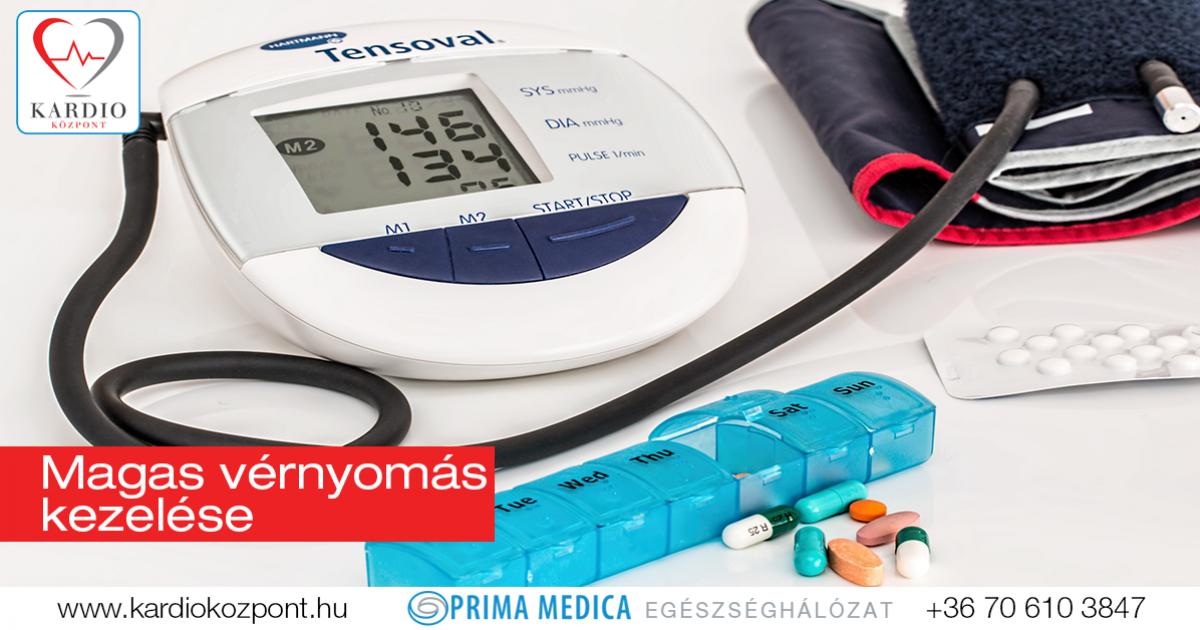 milyen eljárásokkal jár a magas vérnyomás