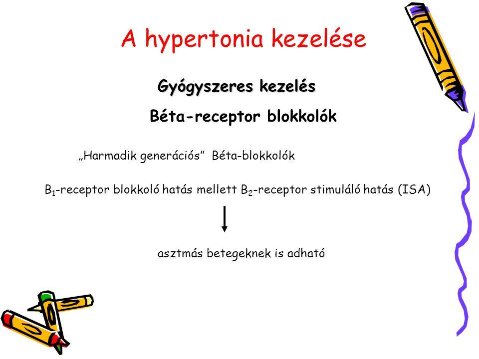 magas vérnyomás béta-blokkolók kezelése