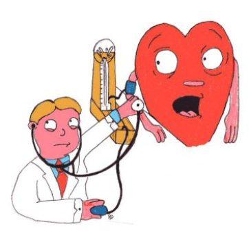 a test megkeményedése magas vérnyomással