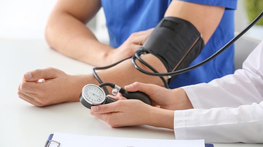 diagnosztizálják a magas vérnyomást