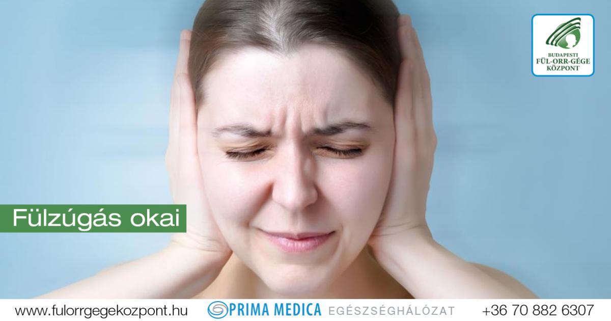 fülcsengés és magas vérnyomás
