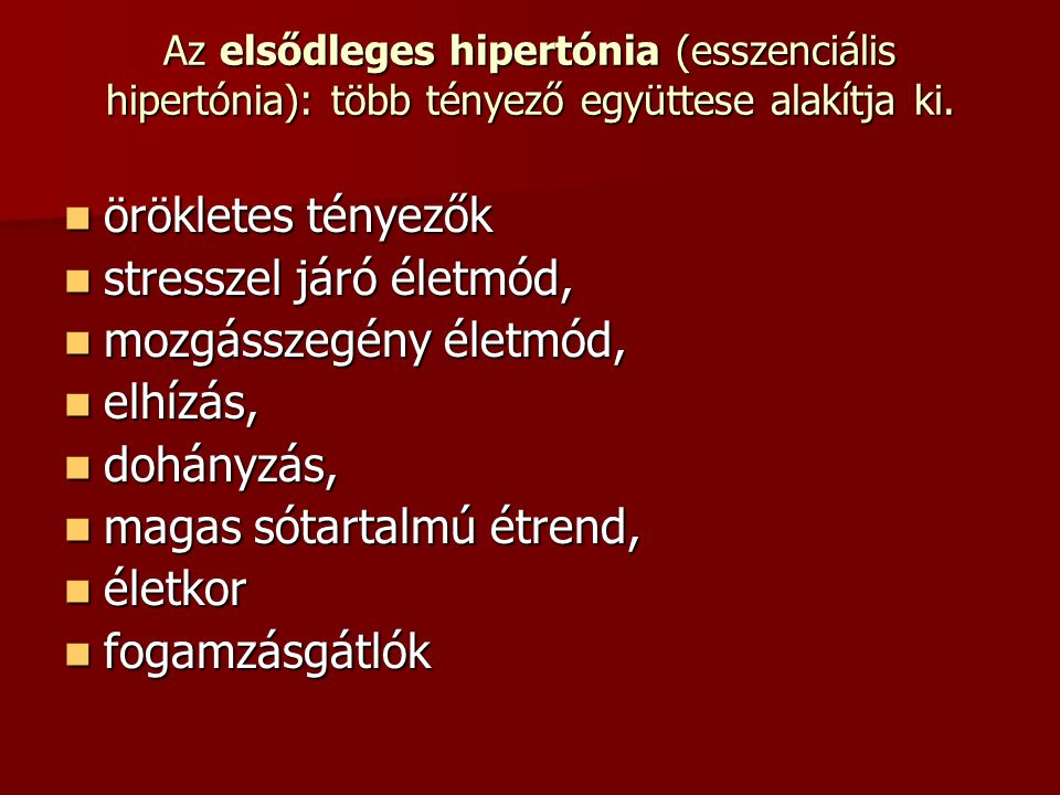 gyógyszercsoport hipertónia