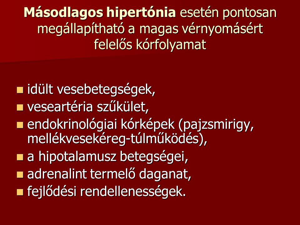 hipotalamusz és magas vérnyomás