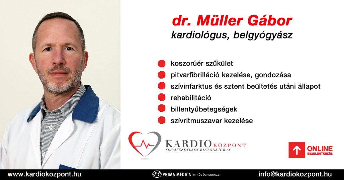 kardiológiai központok magas vérnyomás