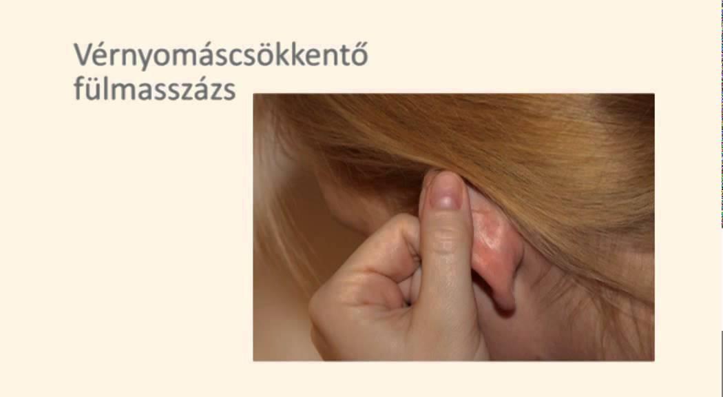 magas vérnyomás akupunktúrás kezelése