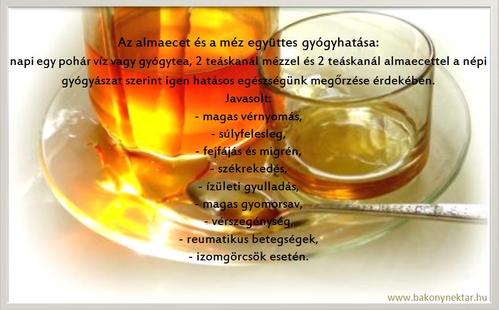 mézes víz magas vérnyomás